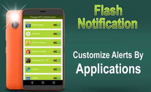 Apk Flash Notification buatan Z Mobile Android