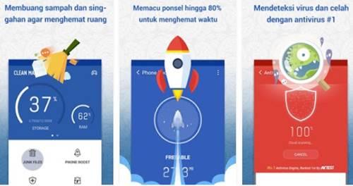 Aplikasi Anti Virus Android Terbaik Terpercaya Aman dari Clean Master Apk