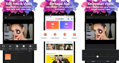 Aplikasi Edit Video Lucu Android Yang Ringan Apk VivaVideo