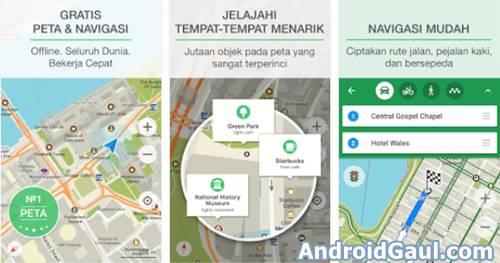 Aplikasi GPS Peta Penunjuk Jalan Offline Terbaik di HP Android