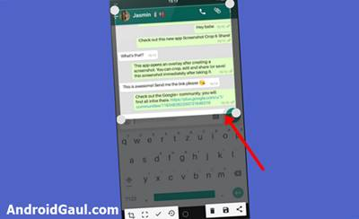 Aplikasi Screenshot Android Tanpa Root APK Screenshot Crop and Share