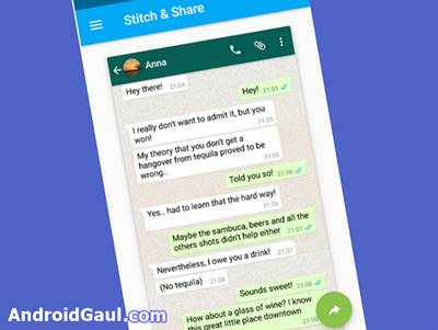 Aplikasi Screenshot Tanpa Menekan Tombol Apk Stitch n Share big screenshot