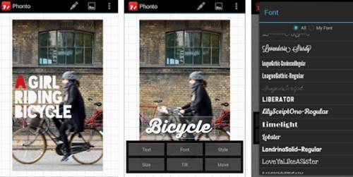 Cara Menggunakan Phonto untuk Membuat Tulisan Teks di Foto Android