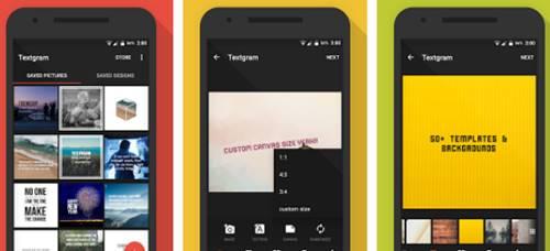 Cara Menulis di dalam Foto Pakai HP Android dengan Aplikasi textgram APK
