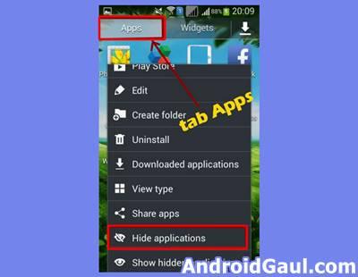 Cara Menyembunyikan Aplikasi dan Game melalui Launcher Android