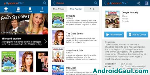 Cara Nonton Film di HP Android Pakai Aplikasi Popcornflix
