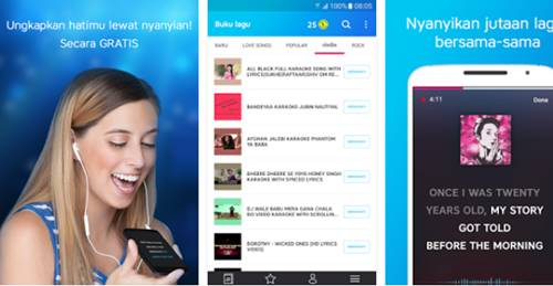 Download Apk Karaoke lagu musik Indonesia Android