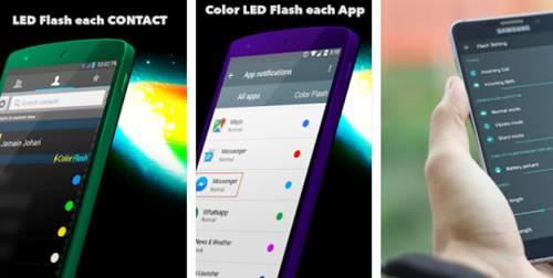 Download Color Flash Light Alerts Call Apk Lampu LED Saat Ada Telepon masuk di Android
