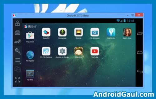 Download Droid4X Full emulator android untuk pc ringan