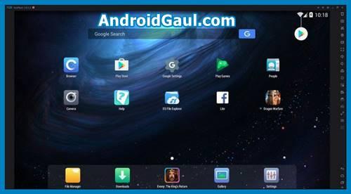 Download NOX emulator android untuk pc spek rendah