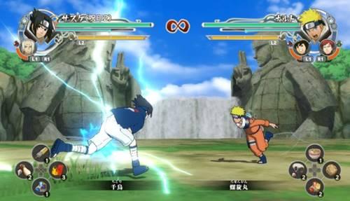Download Naruto Shipuden VS Sasuke Apk Game Perang Ninja HP Android