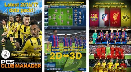 Download PES CLUB MANAGER Apk for Android Full Data Offline