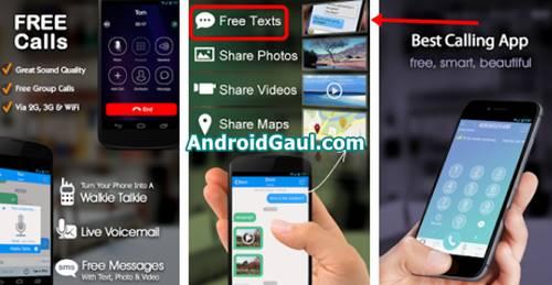 Download Talk-U Apk aplikasi sms gratis untuk mengirim pesan tanpa pulsa