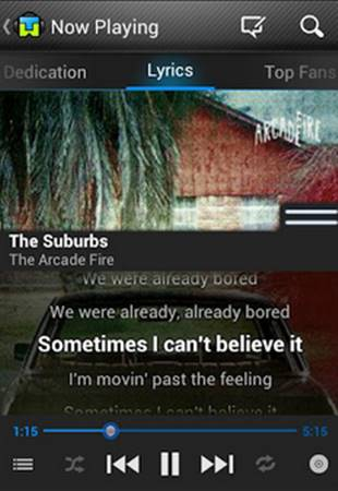 Download Tunewiki - Lyrics For Music APK for Android