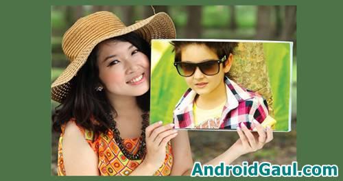 Download bingkai foto keren Apk Photo Frames Hoarding Editor Android
