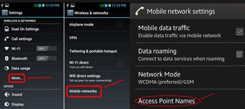 Tutorial Cara Pengaturan APN Internet Android Lengkap Merek Apa Saja