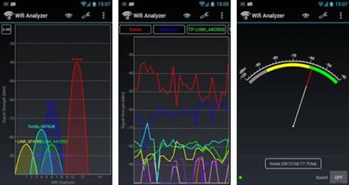 Alat penangkap sinyal wifi untuk hp android apk Wifi Analyzer