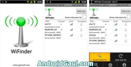 App Wifi jarak jauh pro apk WiFinder Android